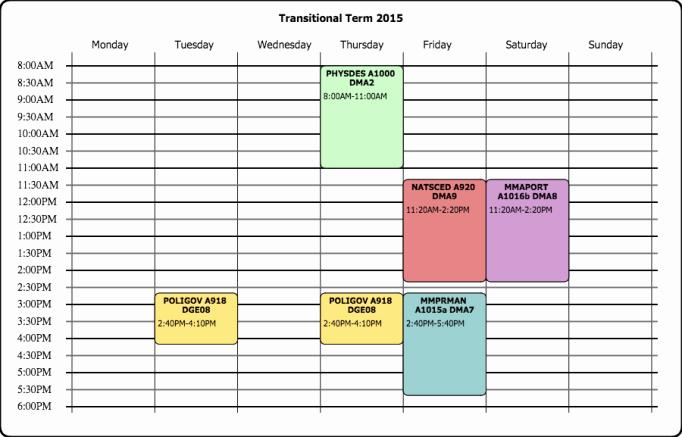 Class Schedule Maker Free Online Best Of 8 Class Schedule Makers Excel Templates