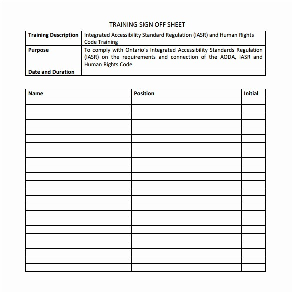 Class Sign In Sheet Template Luxury 12 Sample Training Sign In Sheets