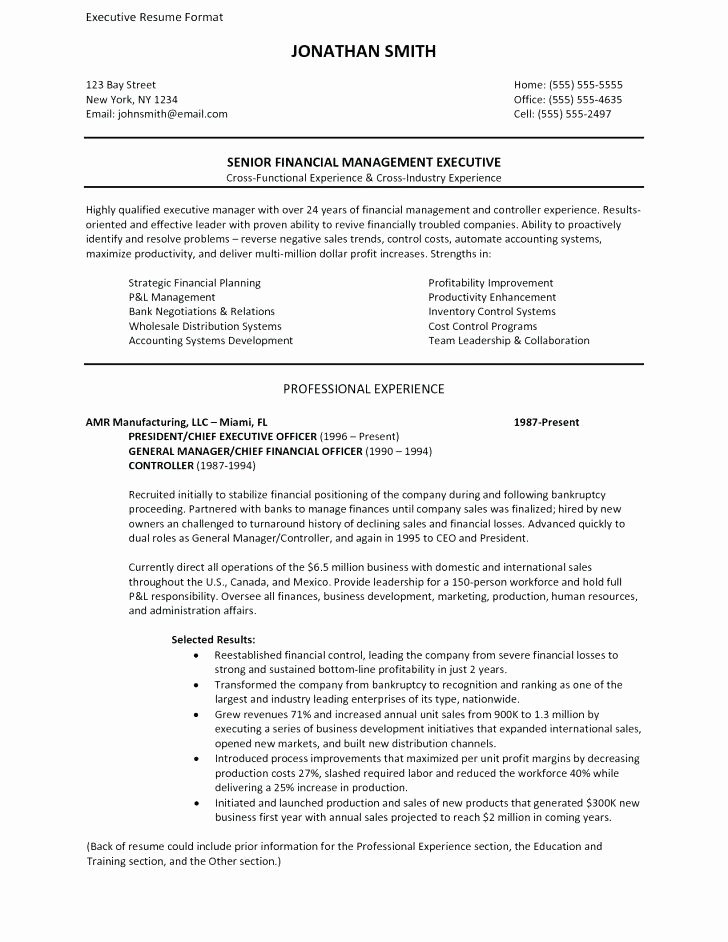 Classic Resume Template Word Download Awesome Executive Classic format Resume Template Word Classic
