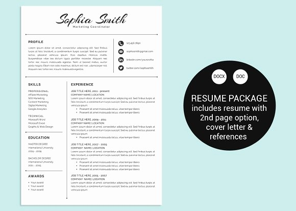 Classic Resume Template Word Download Luxury Classic Script Word Resume Template Resume Templates