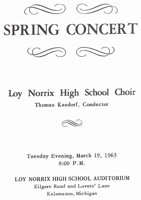 Classical Music Concert Program Template Fresh Alice S Archives A tom Kasdorf Tribute thee We Sing