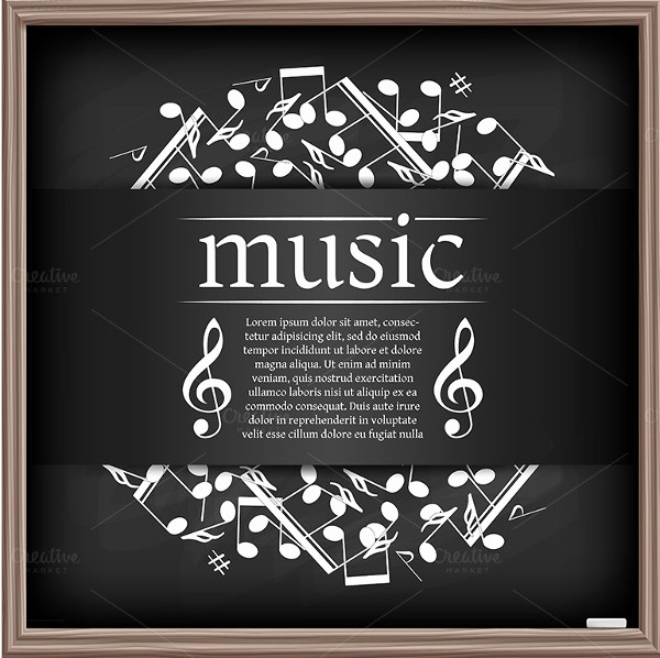 Classical Music Concert Program Template Lovely 18 Music Poster Templates Free Psd Ai Vector Eps