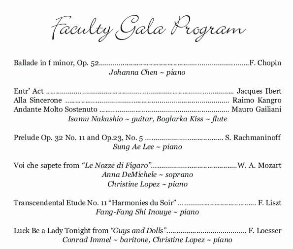 Classical Music Concert Program Template New Classical Concert Program Template Beautiful Template