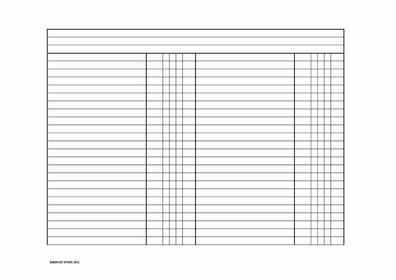 Classified Balance Sheet Template Excel Luxury Classified Balance Sheet Template Excel