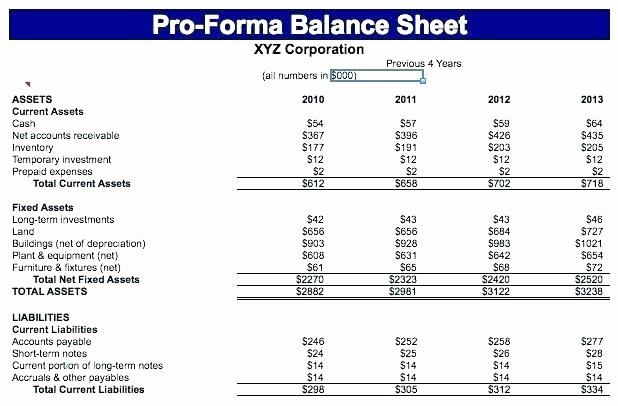 Classified Balance Sheet Template Excel New Prepare A Classified Balance Sheet In Report form Helpful