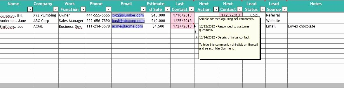 Client Database Template Excel Free Fresh Free Excel Contact Management Spreadsheet