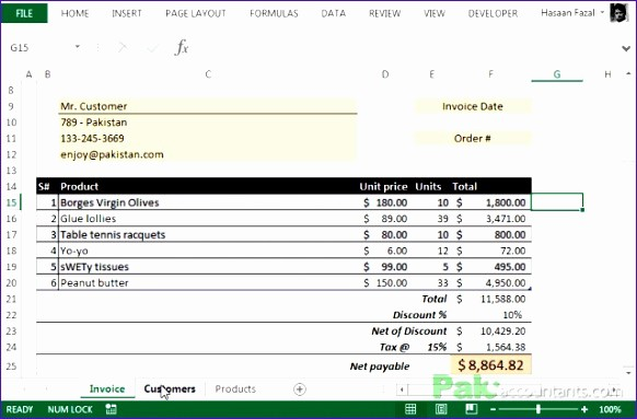 Client Database Template Excel Free Inspirational 5 Excel Customer Database Template Exceltemplates