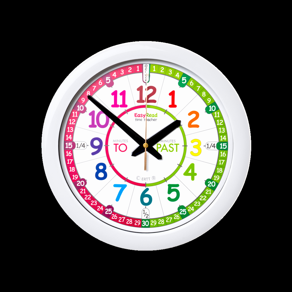 Clock In Clock Out Template Beautiful Easyread Time Teacher Clock English 29cm Dia Silent