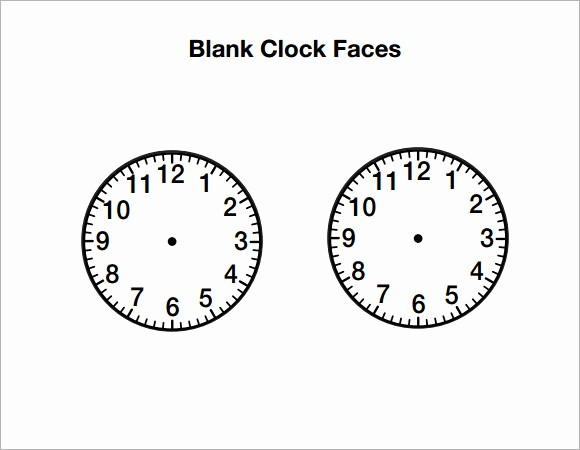 Clock In Clock Out Template Best Of 10 Clock Samples