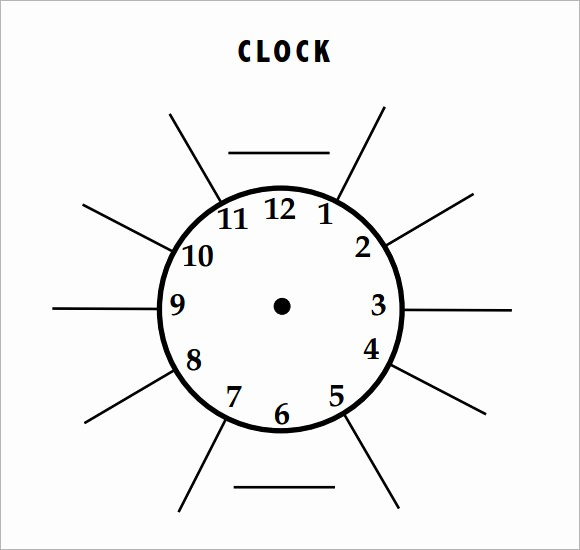 Clock In Clock Out Template New 10 Clock Samples