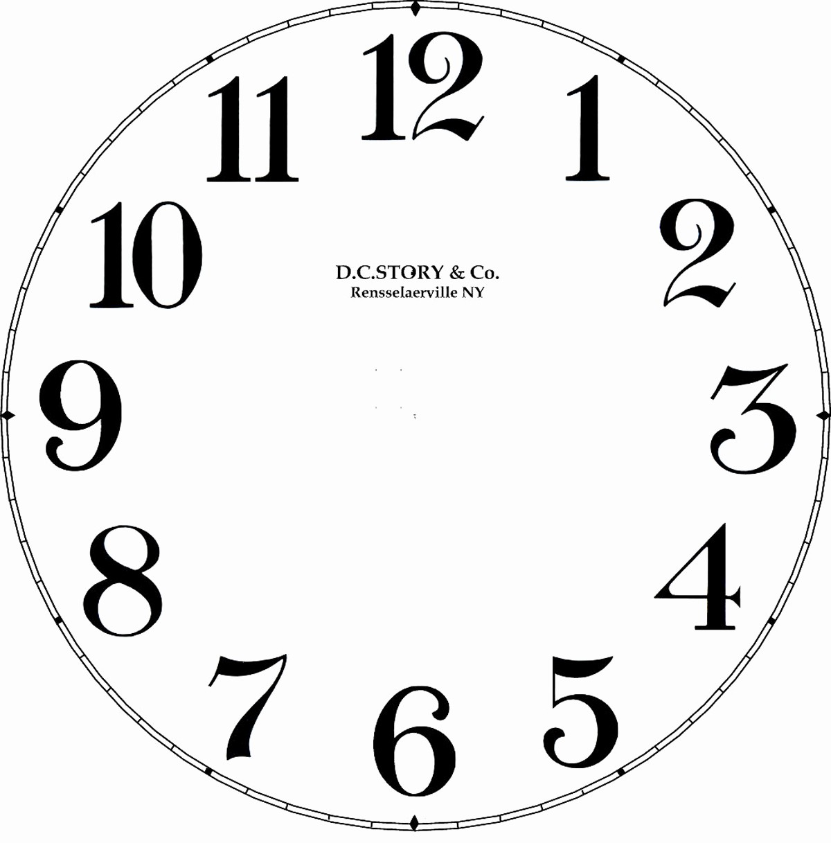 Clock In Clock Out Template Unique Clock Decal