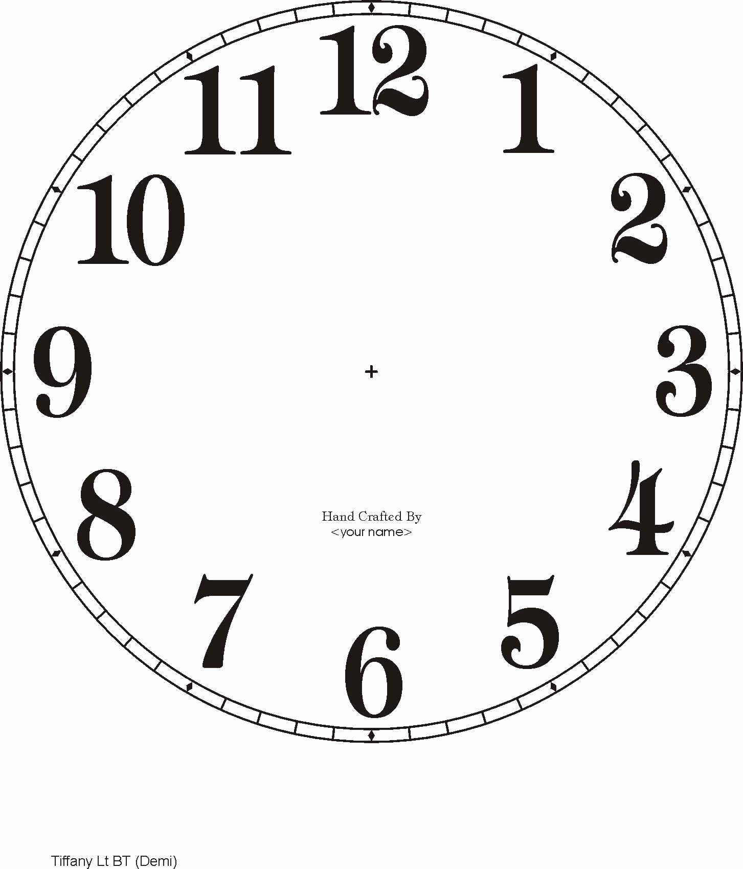 Clock In Clock Out Template Unique Picture Wall Clock Template