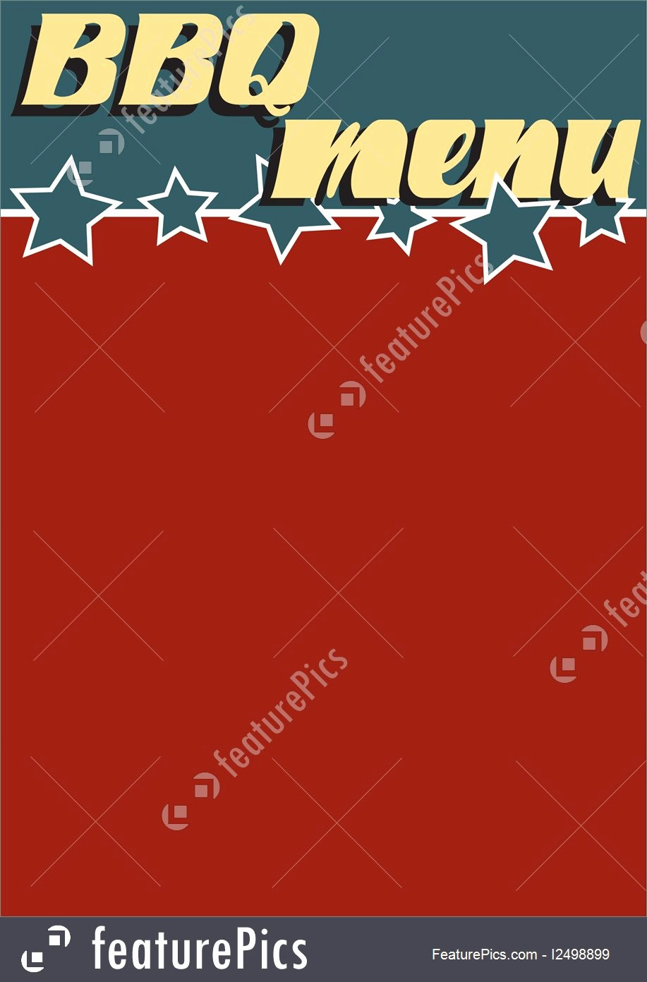 Closed 4th Of July Template Awesome Templates Vintage Style Bbq Menu Template Stock