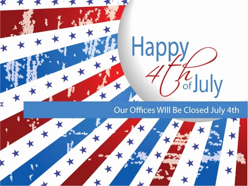 Closed 4th Of July Template Beautiful social Media Graphics to
