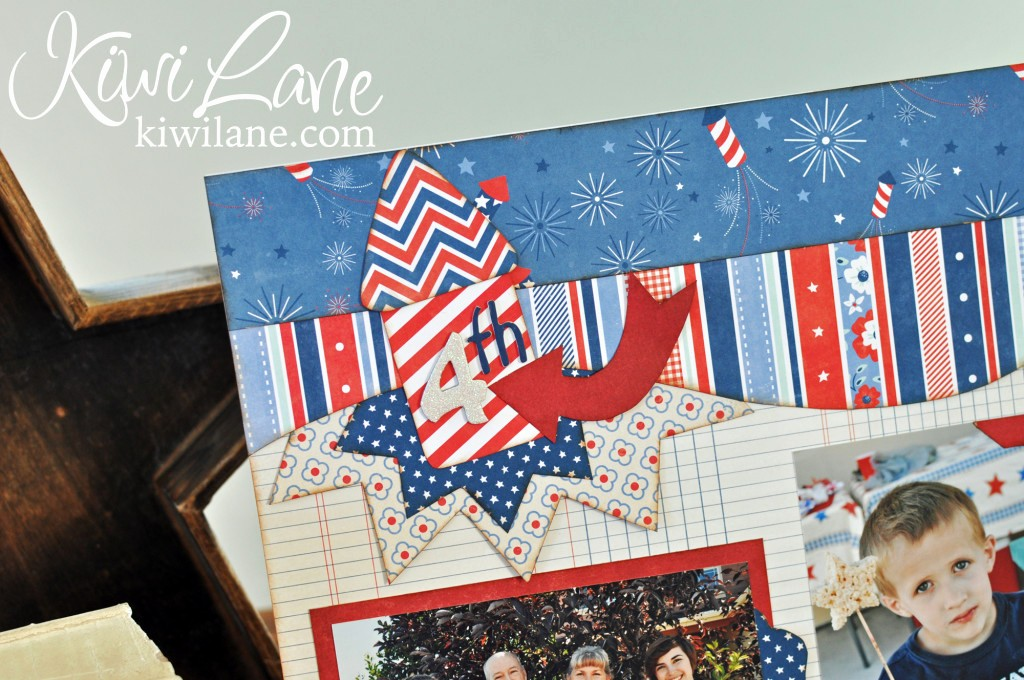 Closed 4th Of July Template Lovely 4th Of July Scrapbook Layout Ideas