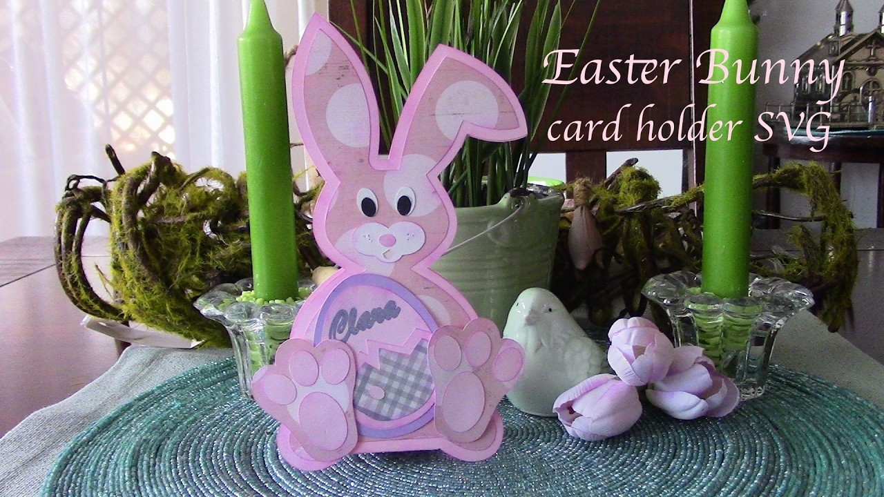 Closed for Easter Sign Template Awesome Easter Bunny Card Holder Svg