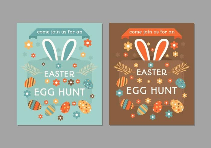 Closed for Easter Sign Template Best Of Retro Easter Egg Hunt Poster Download Free Vector Art