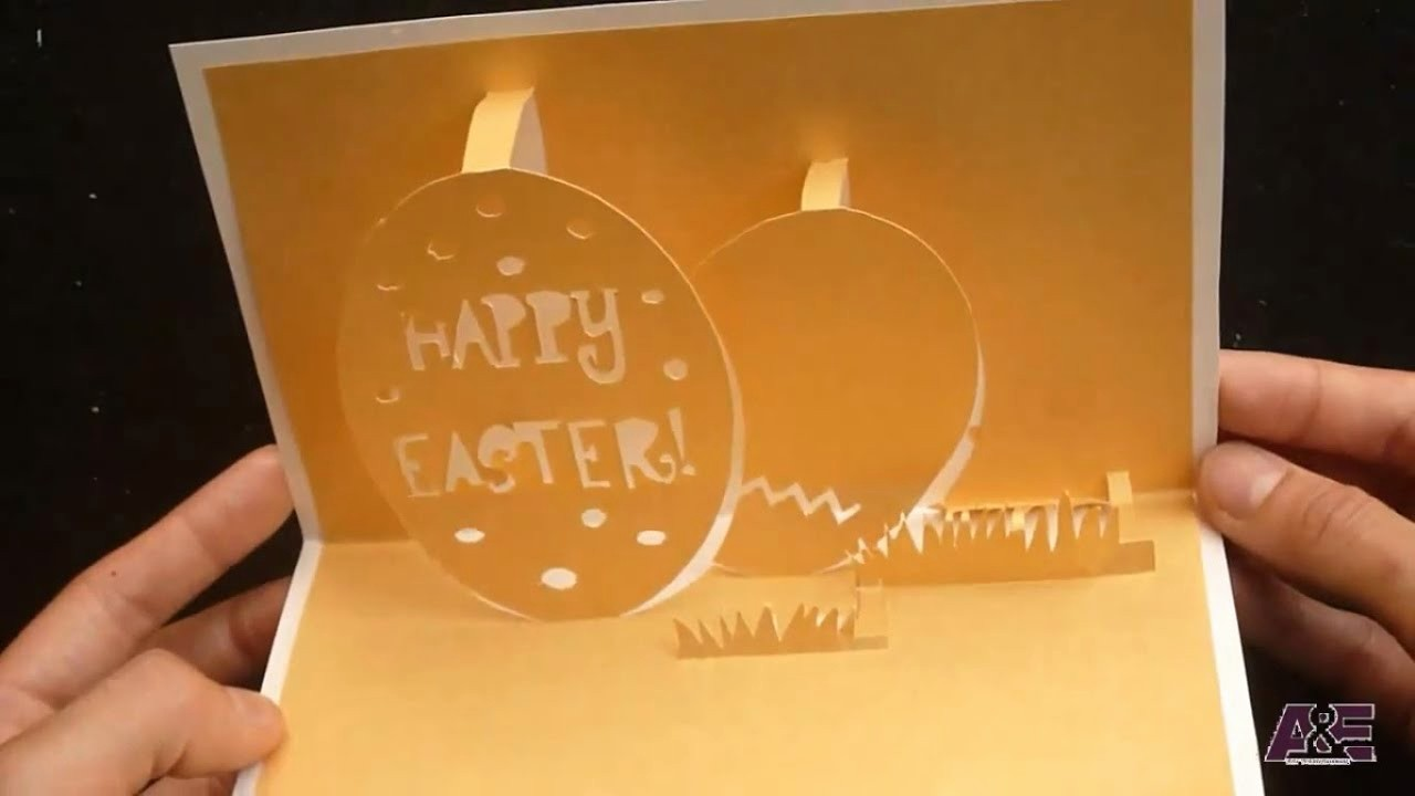 Closed for Easter Sign Template Elegant How to Make Happy Easter S Pop Up Card Tutorial