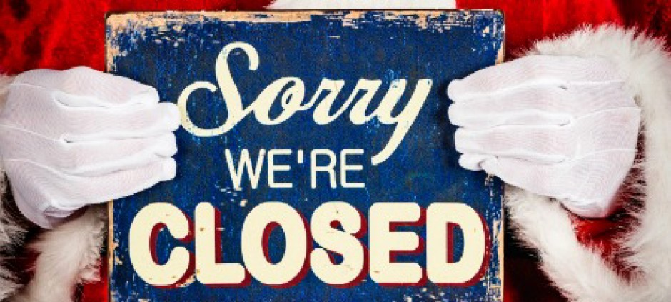 Closed for the Holiday Sign Elegant Closed for Christmas Masterpiece Mixers Louisville