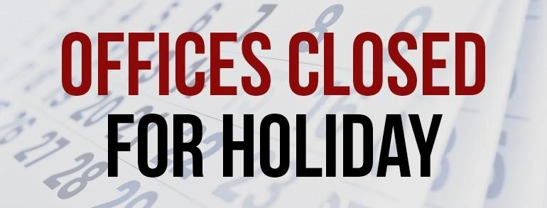 Closed for the Holiday Sign Fresh Fourth Of July Schedule for Local Governments News the