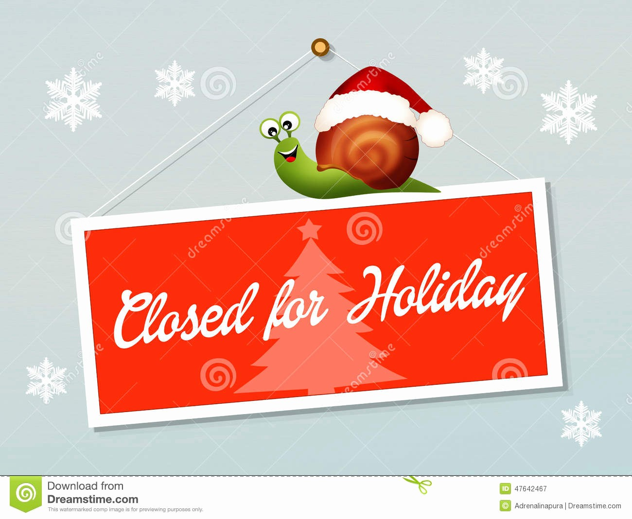 Closed for the Holiday Sign Inspirational Closed for Holidays Stock Illustration Image Of event