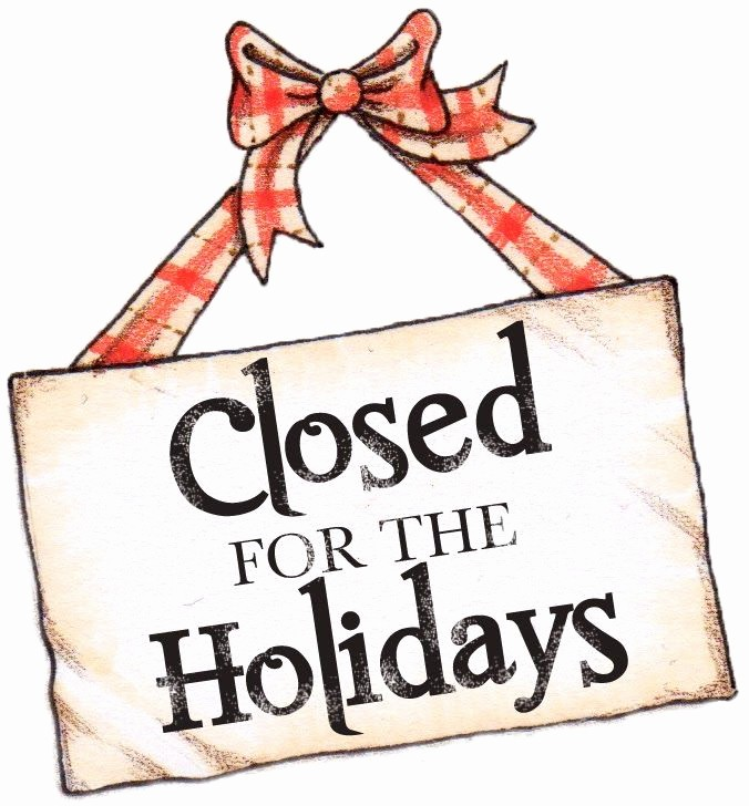 Closed for the Holiday Sign Lovely Free Templates for Business Closing for the Holiday