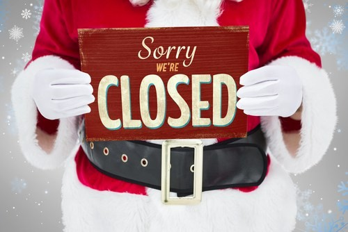 Closed for the Holidays Sign Best Of Post Fices Will Be Closed Christmas Day and New Year S