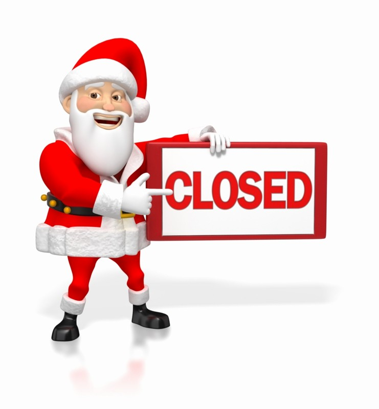 Closed for the Holidays Sign Fresh Cv