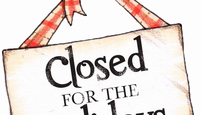 Closed for the Holidays Sign Fresh Fice Closed for the Holiday's – New Hope