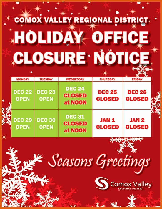 Closed for the Holidays Sign Fresh Holiday Hours Sign Template Free
