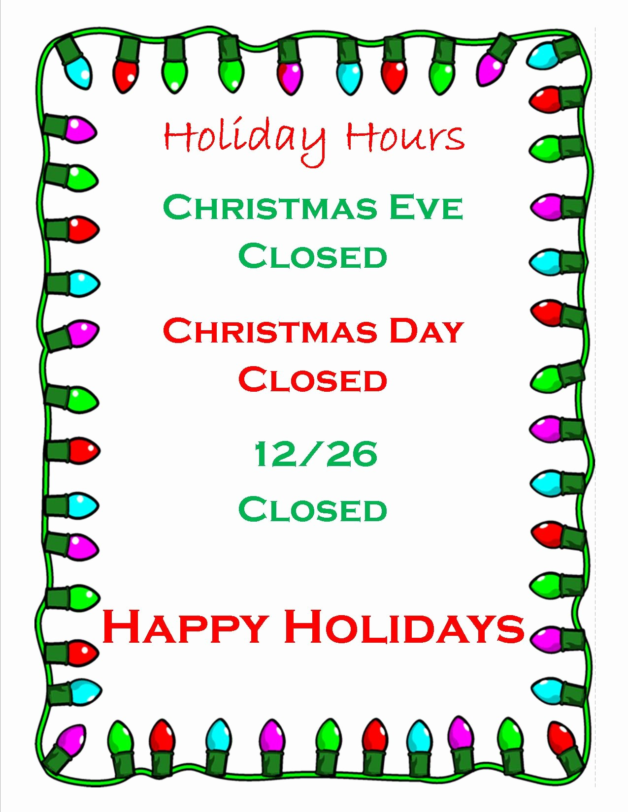 Closed for the Holidays Sign Lovely Business Fice Closed for Holidays Keizer Fire District