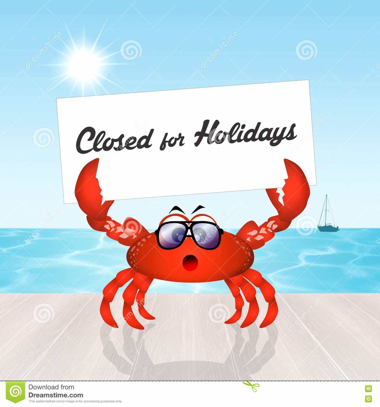 Closed for the Holidays Sign Lovely Closed for Holidays Stock Illustration Image