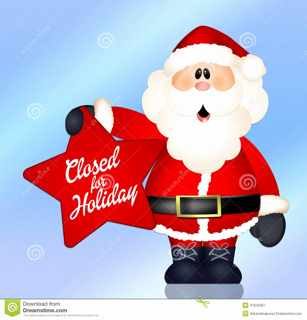 Closed for the Holidays Sign Luxury Closed for Holidays Stock Illustration Image Of Sale