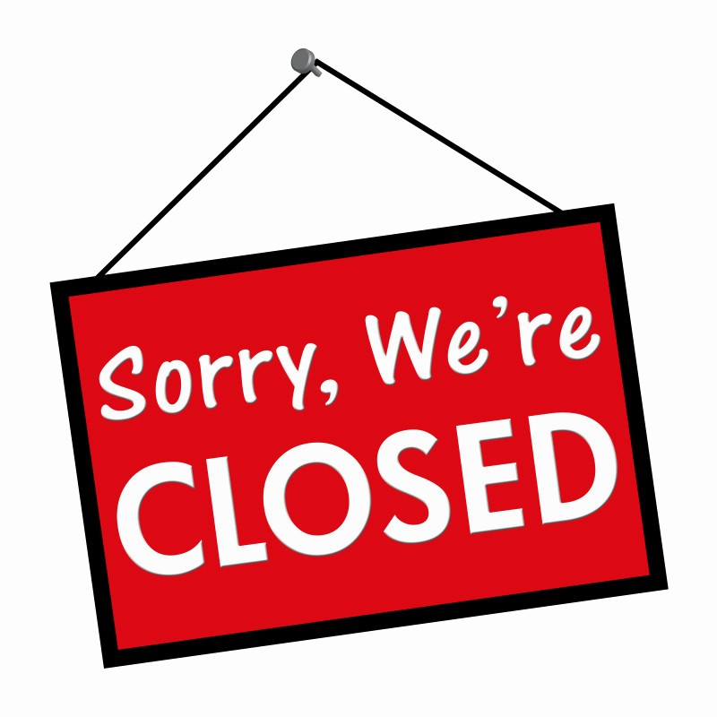 Closed for the Holidays Sign Luxury Libraries and Cfac Closed May 28 and May 30 for Memorial