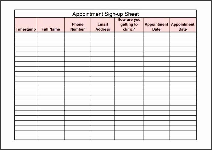 Club Sign In Sheet Template Fresh 6 Club Phone Log Template Sampletemplatess