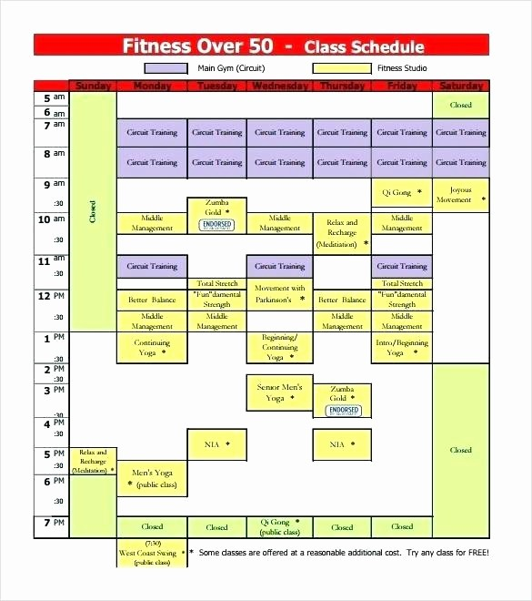 College Class Schedule Template Printable New College Class Schedule Printable – Picks
