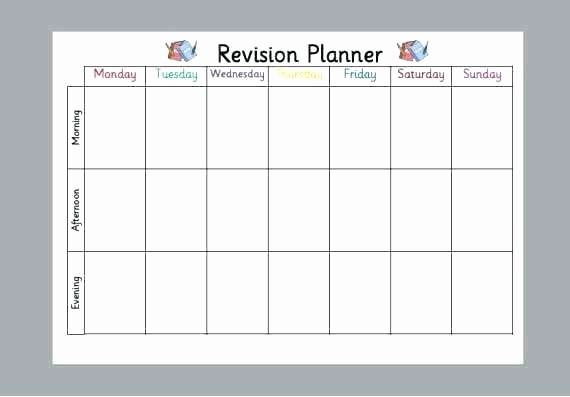 College Schedule Template Google Docs Elegant Study Planner Template Excel Revision Timetable Google