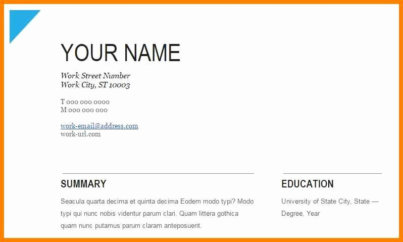 College Schedule Template Google Docs Luxury 8 Google Docs Resume Samples