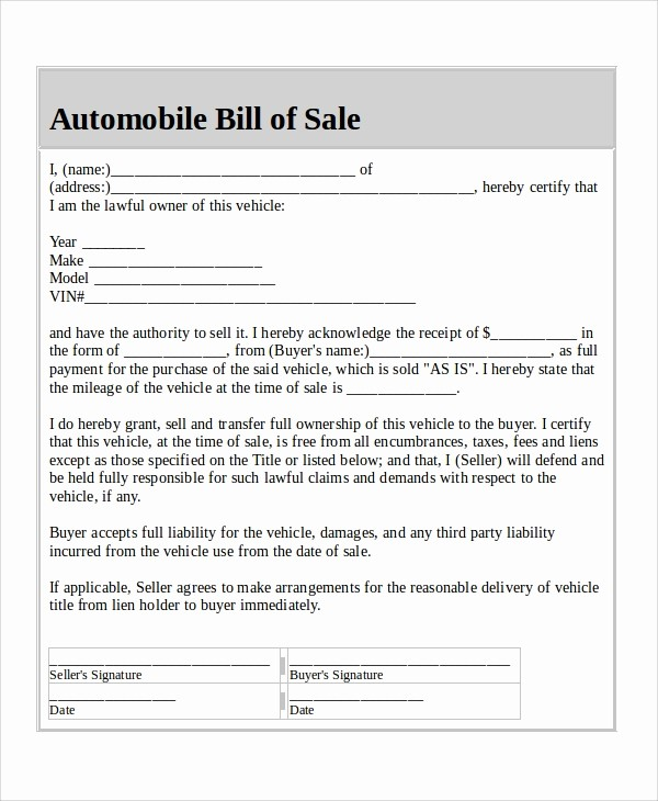 Colorado Auto Bill Of Sale Best Of How to Write A Vehicle Bill Of Sale Kayskehauk