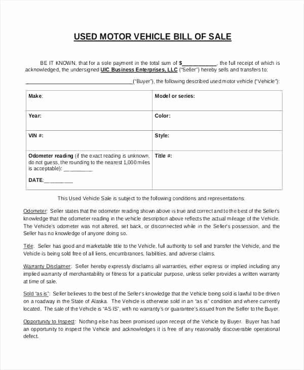 Colorado Auto Bill Of Sale Luxury Bill Sale for Car Colorado Bill Of Sale Colorado Dmv