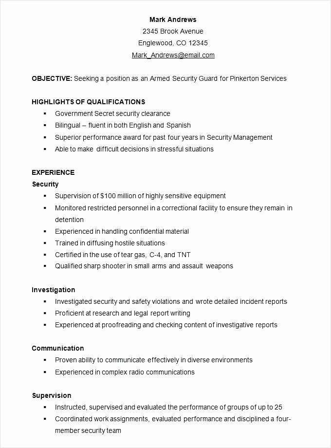 Combined Resume and Cover Letter Awesome Sample Bined Resume Flexible Executive assistant Useful