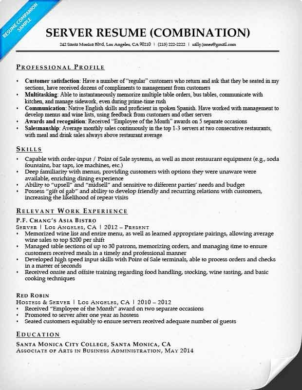 Combined Resume and Cover Letter Elegant Bination Resume Samples
