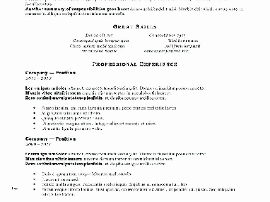 Combined Resume and Cover Letter Elegant Bination Resume Template – Gyomorgyurufo