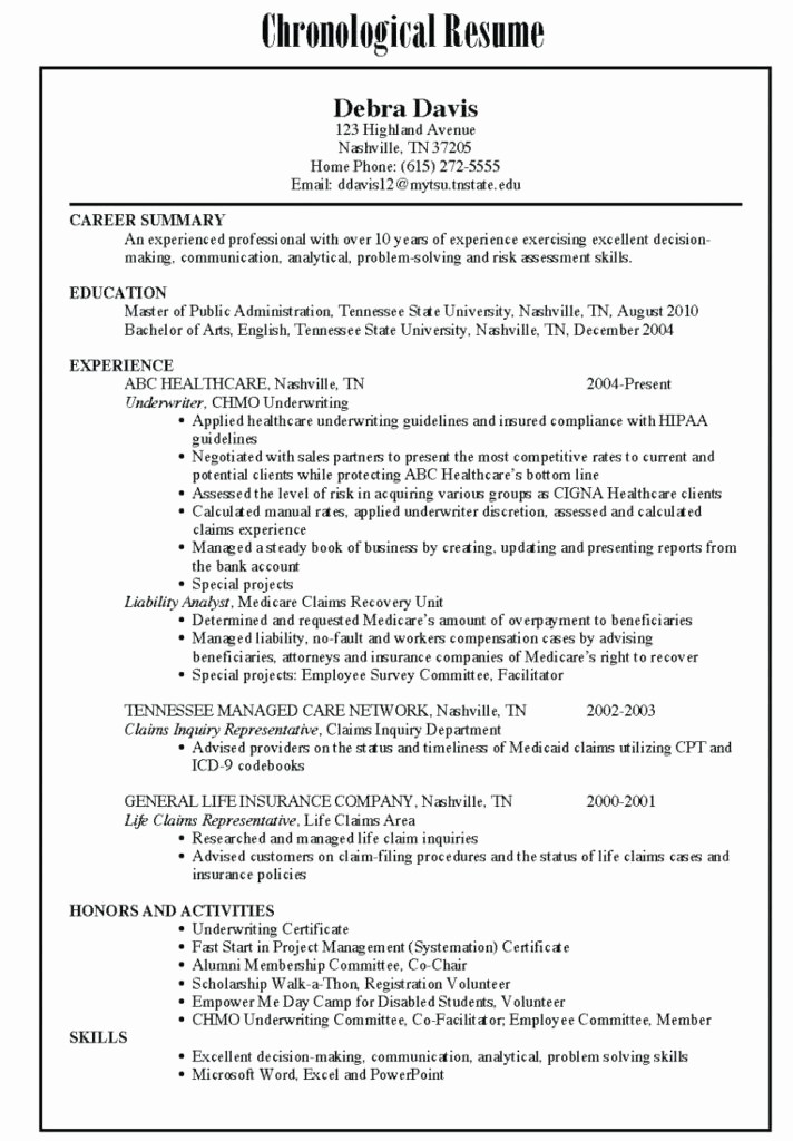 Combined Resume and Cover Letter Elegant Bo Resume