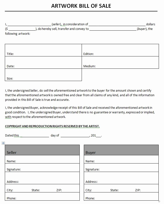 Commercial Truck Bill Of Sale Best Of Free Printable Motorcycle Bill Of Sale form Generic