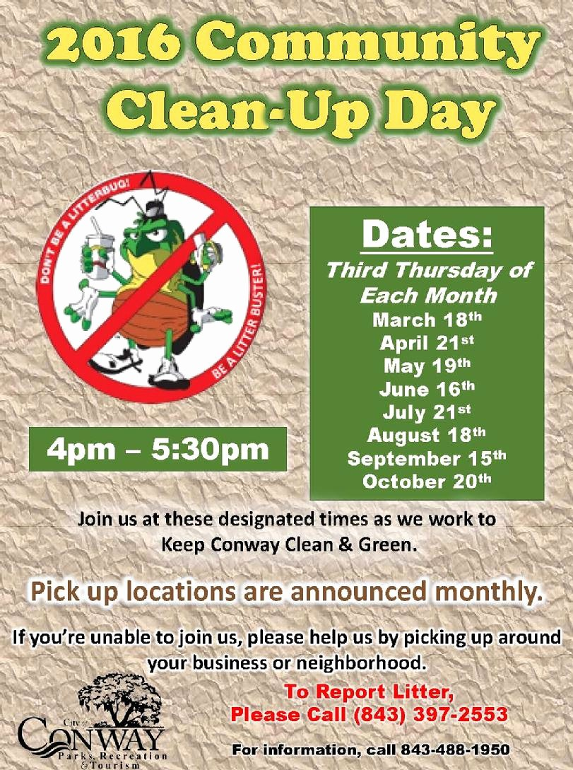 Community Clean Up Flyer Template Best Of 811 2016 Munity Clean Up Flyer