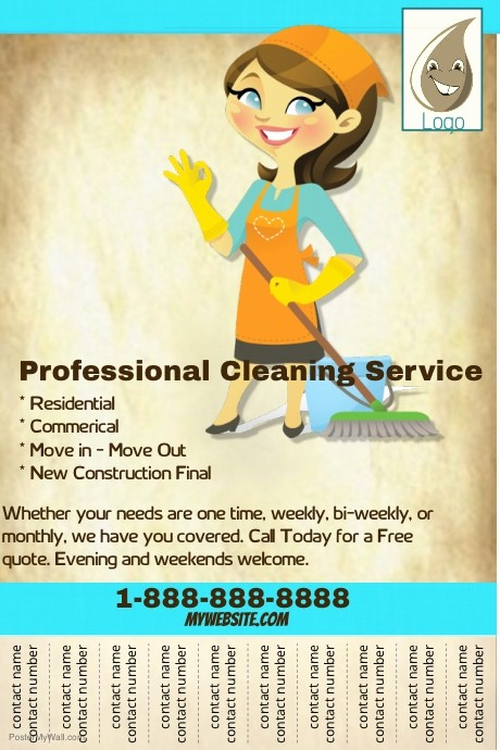 Community Clean Up Flyer Template Elegant Professional Cleaning Service Flyer Template