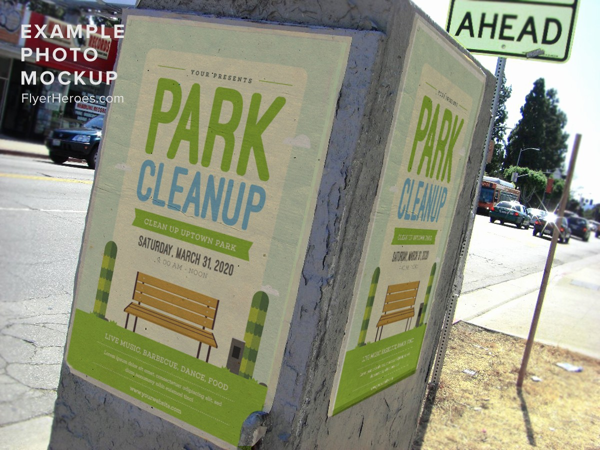 Community Clean Up Flyer Template Inspirational Park Clean Up Flyer Template Flyerheroes