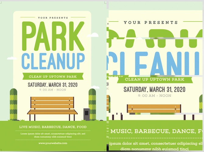 Community Clean Up Flyer Template Luxury Park Clean Up Flyer Template Flyerheroes