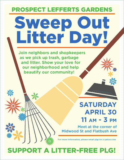 Community Clean Up Flyer Template New the Q at Parkside Not Your Gramma S Neighborhood Cleanup Day